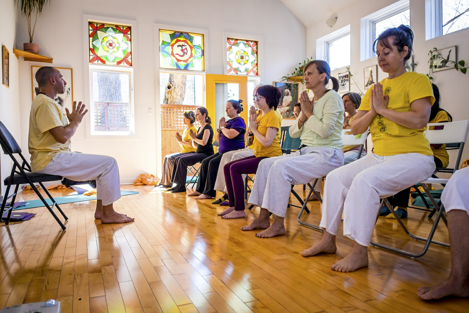 Chair Yoga Teacher Training Sivananda Yoga Vedanta Center Nyc