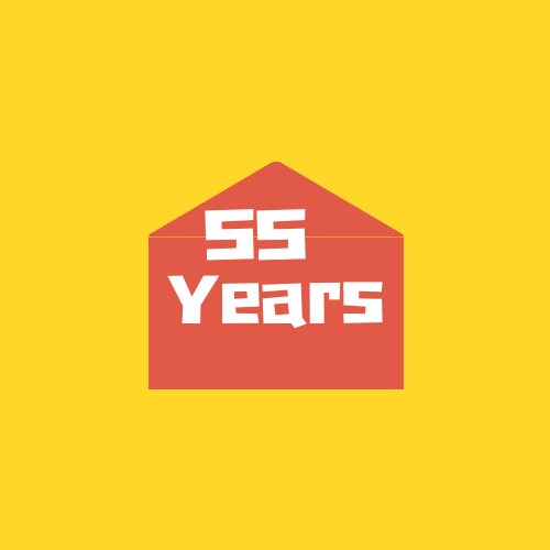 """<div style=""""line-height: 1.3; color: #ff9031; font-family: catamaran;"""">55 year Anniversary Celebration</div>"""